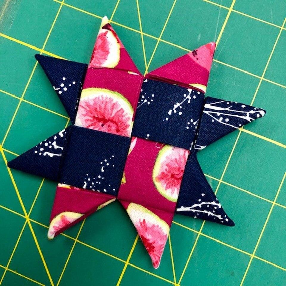 Folded Star Ornament Tutorial Video