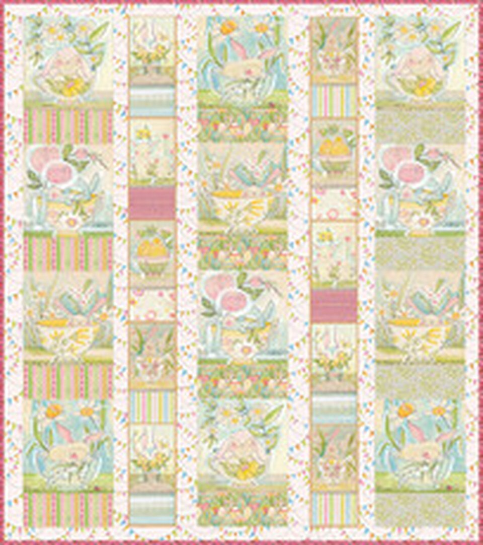 The Promise of Spring  Menagerie Quilt