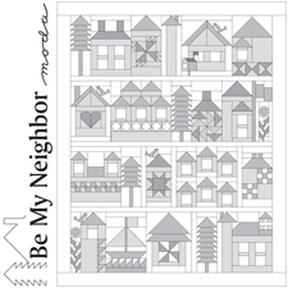 Be My Neighbor Quilt-Along Setting Instructions