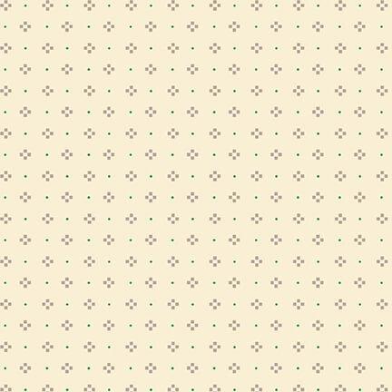 Gratitude & Grace Dots and Boxes Cream