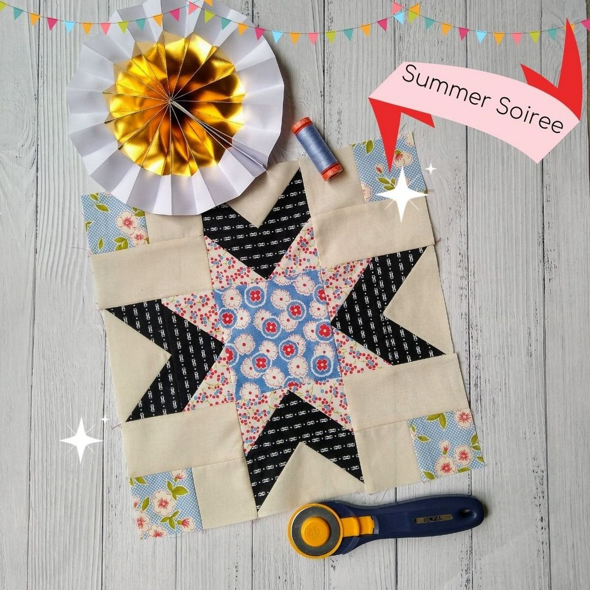 Summer Soiree Sew Along Block 5 Add Some Style