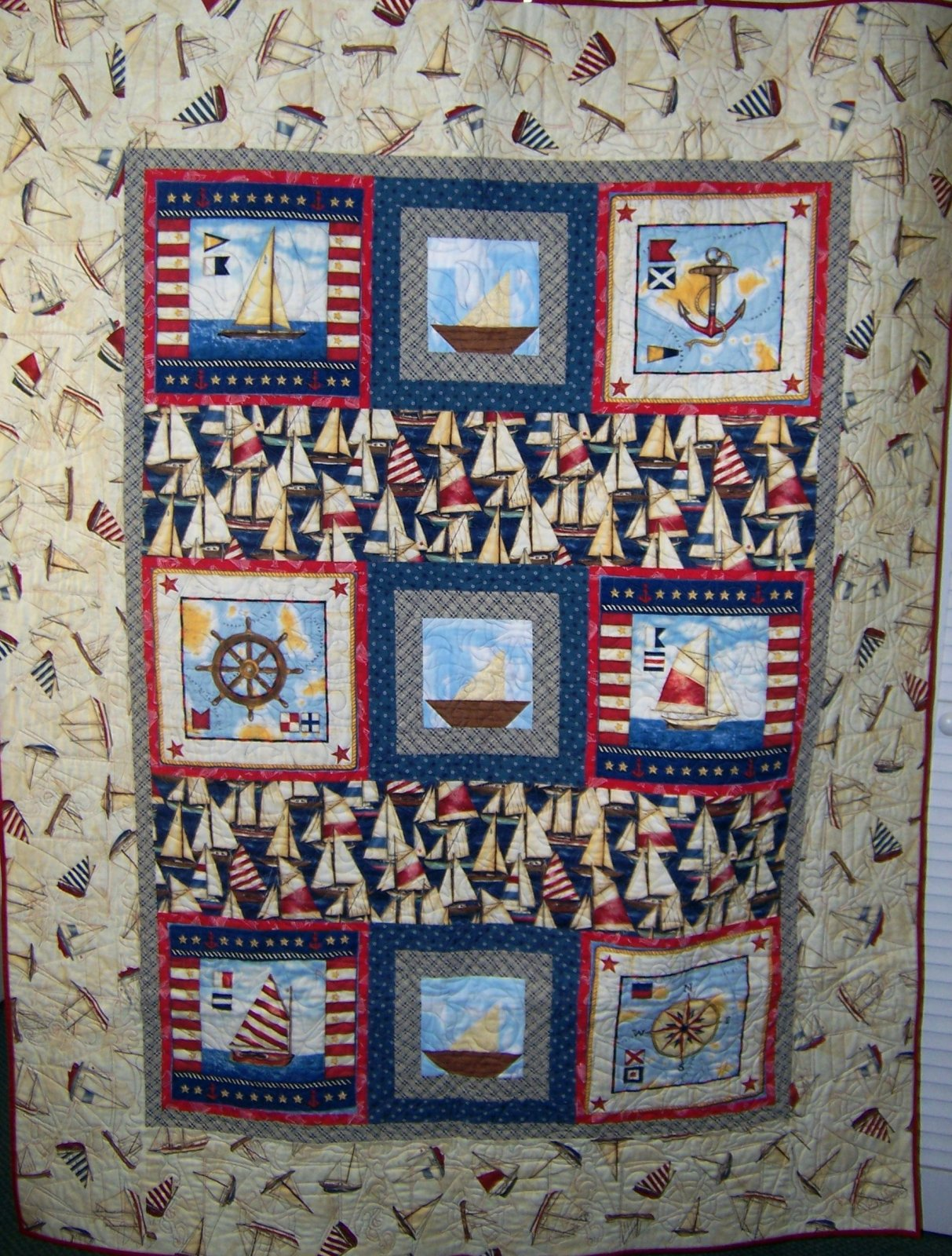 Anchors Away Quilt