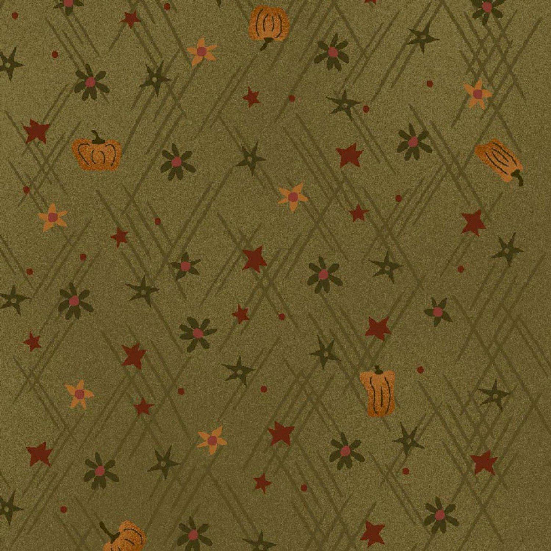 Autumn Song Pumpkin Texture Green
