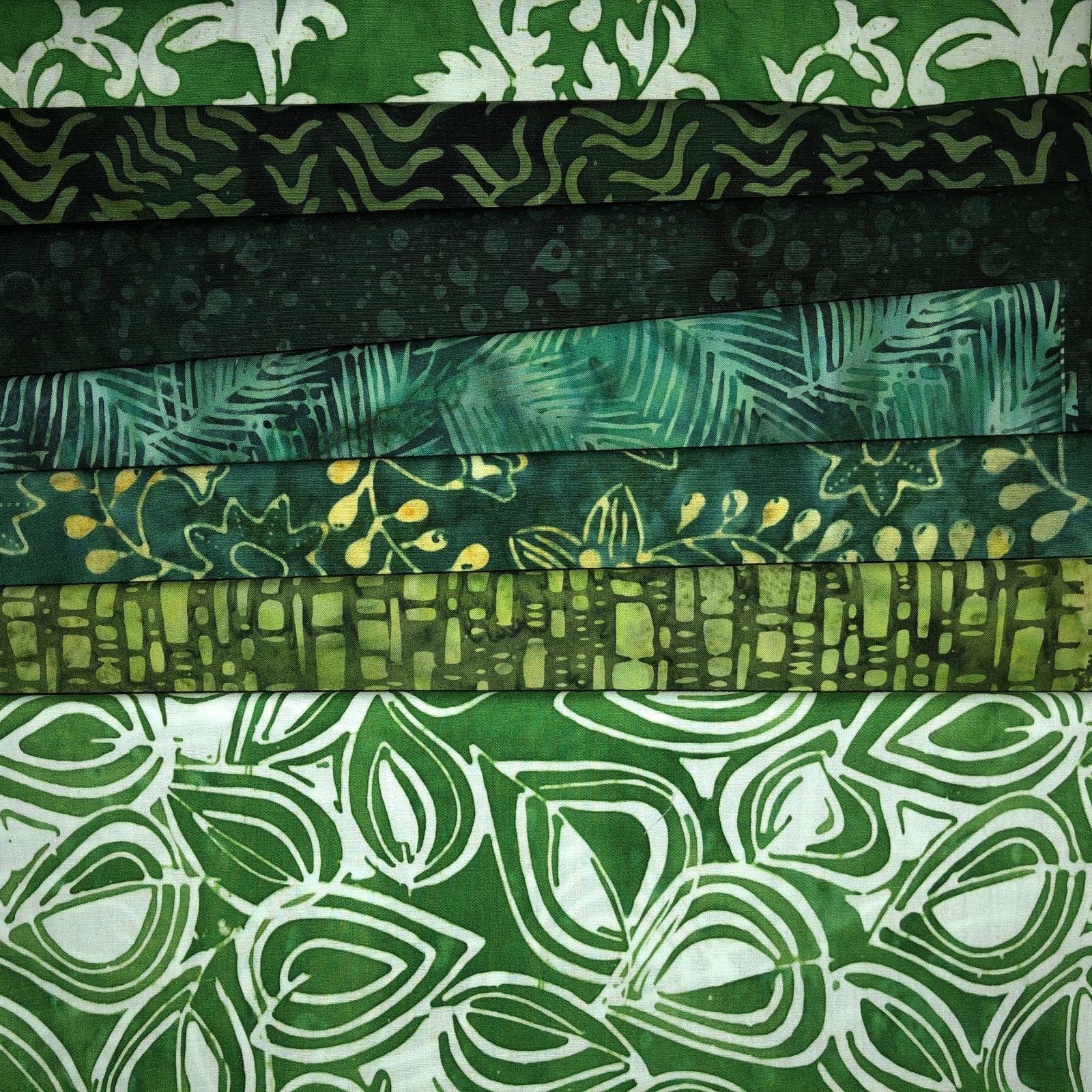 Batik Fat Quarter Bundle 12