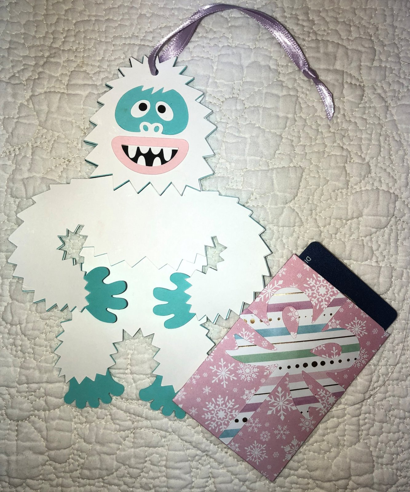 Bumble Gift Card Holder Sugar Plum