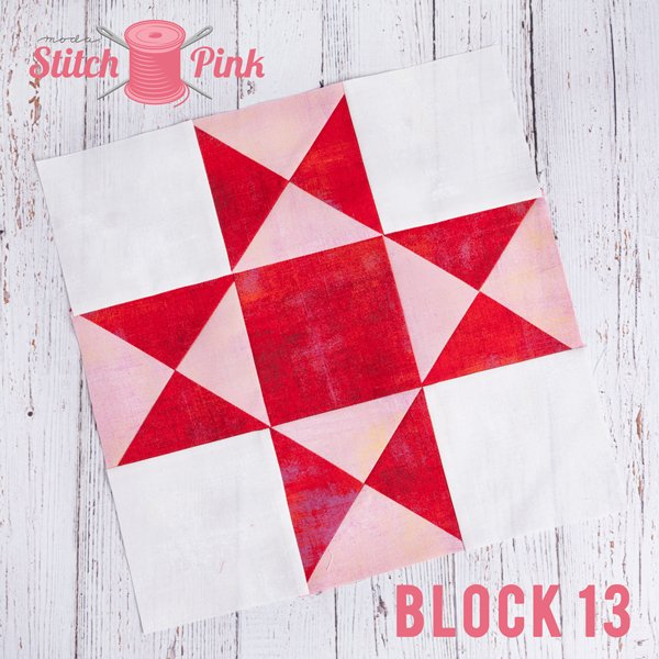 Stitch Pink Block 13 - Rock n Roll
