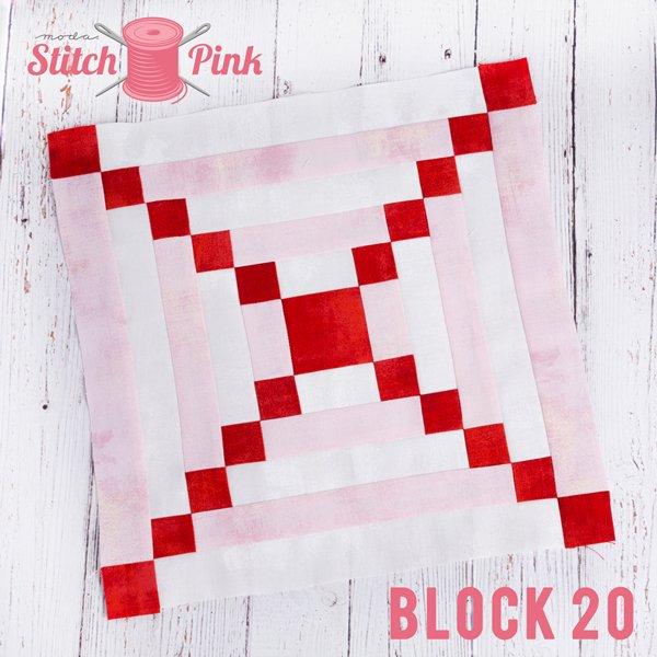 Stitch Pink Block 20 - Blow Me a Kiss