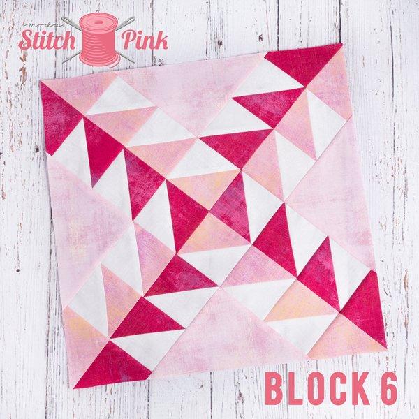 Stitch Pink Block 6 - Baby Boom
