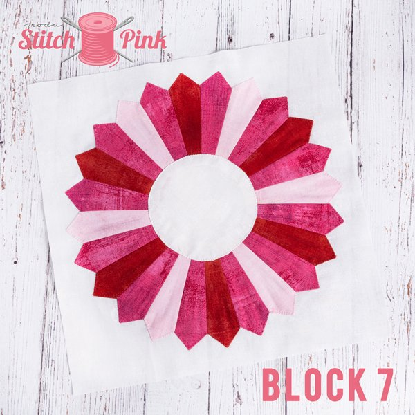 Stitch Pink Block 7 - Jersey Girl