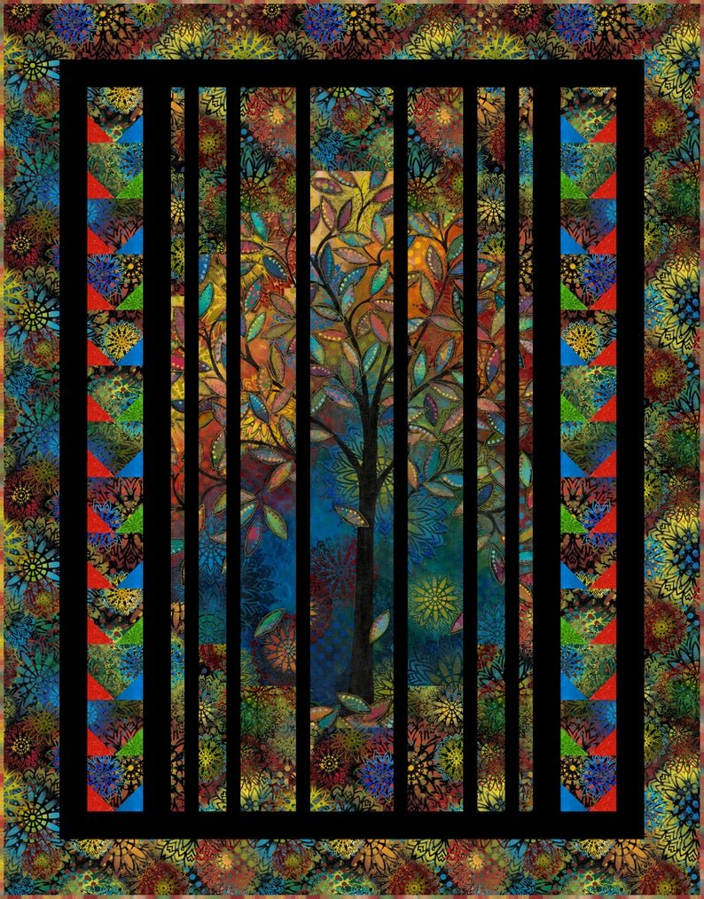 Light in the Forest Quilt Kit