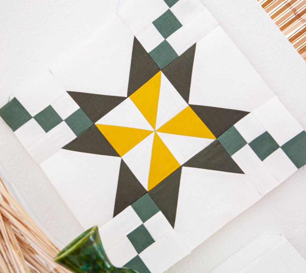 RBD Block Challenge Block 1 Pinwheel Star