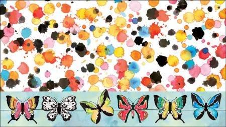 Calendar Pocket Butterfly