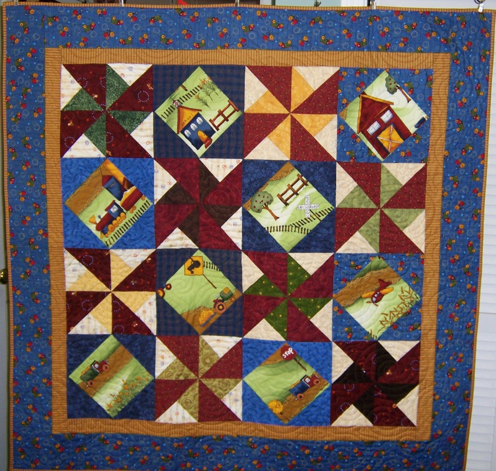 Rons' World Quilt