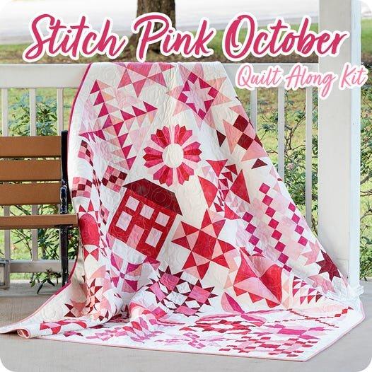 Stitch Pink Quilt Kit