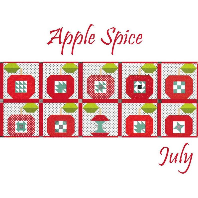 Table Runner of the Month Apple Spice