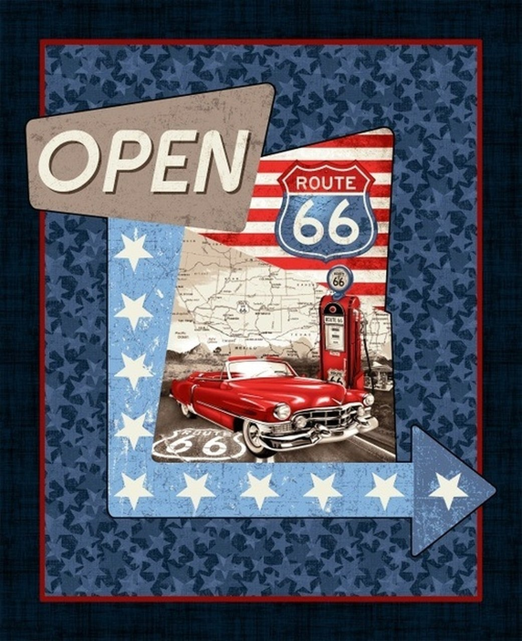 Panel - All American Road Trip Route 66