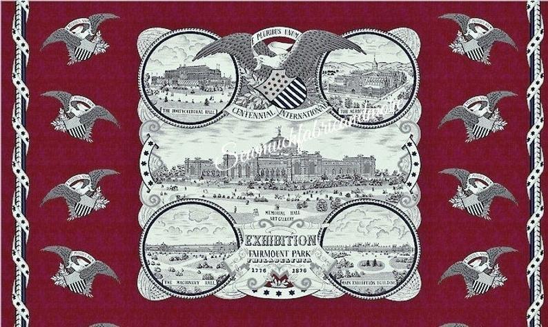 Panel - Fairmount Park - Industrial Revolution 1876 - 1888