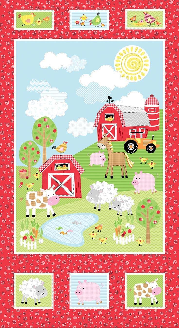 PANEL - Happy  Farms C 8841