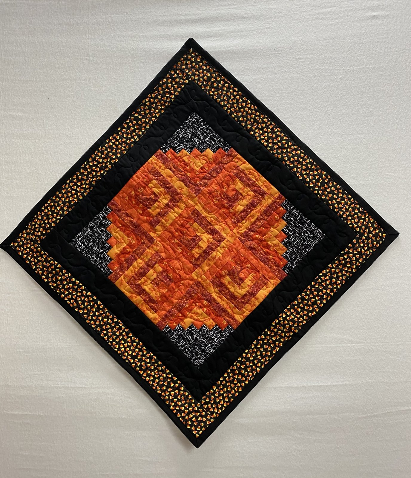 Fall Wall Hanging or Table Topper 25 inches square