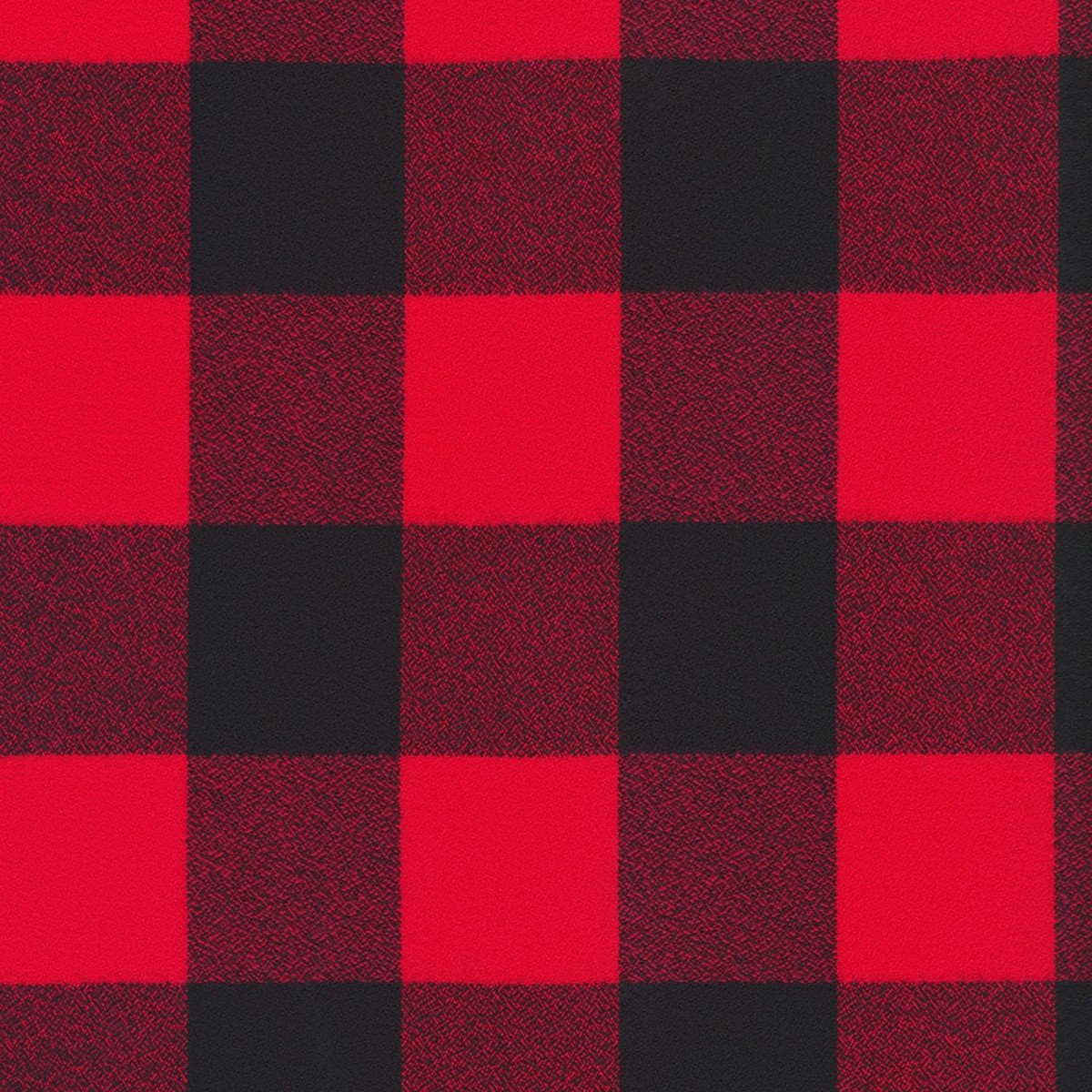 Mammoth Flannel - Buffalo Check Red & Black Large 16943-3 Red