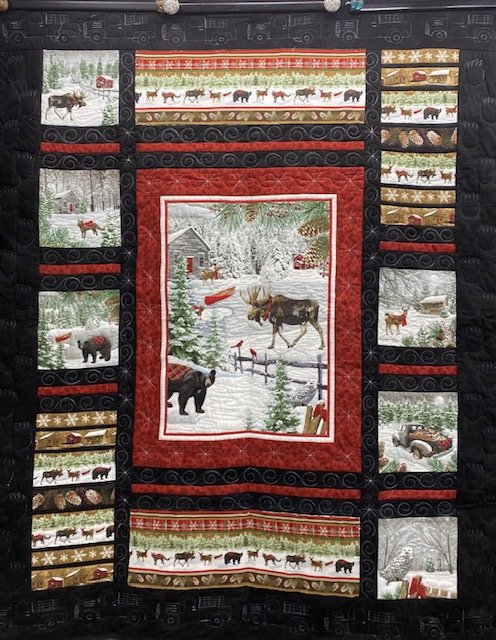 Winter Critters Throw Kit