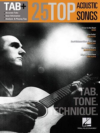 25 Top Acoustic Songs – Tab. Tone. Technique. Tab+