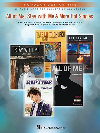 All of Me, Stay With Me & More Hot Singles Popular Guitar Hits