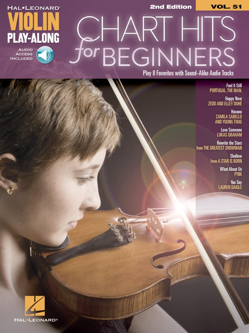 Chart Hits for Beginners Violin Play-Along Volume 51