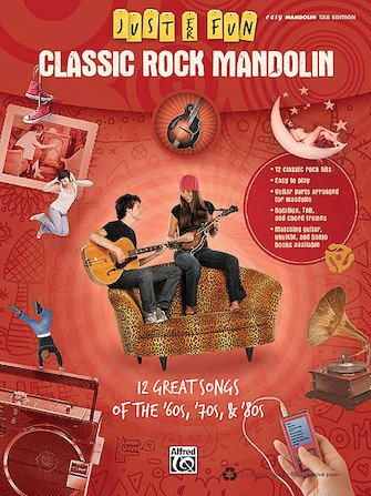 Classic Rock Mandolin Just for Fun Series