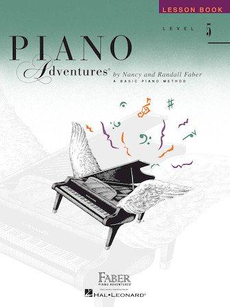 Level 5 – Lesson Book Piano Adventures