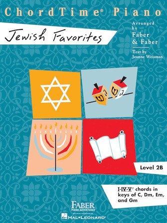 ChordTime Piano Jewish Favorites Level 2B