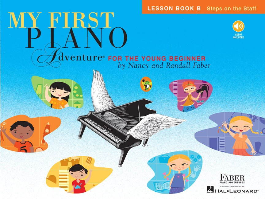 My First Piano Adventure Lesson Book B with Online Audio