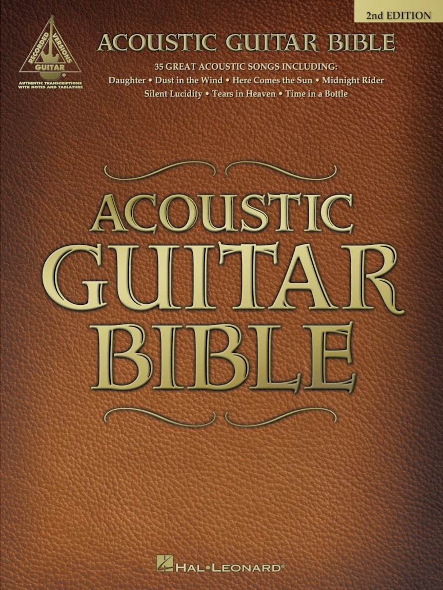 Acoustic Guitar Bible – 2nd Edition Guitar Recorded Versions