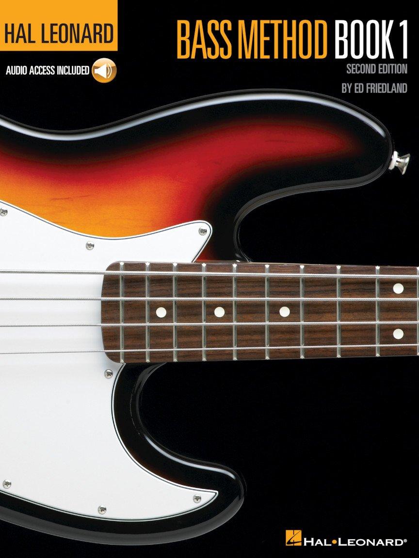 Hal Leonard Bass Method Book 1 2nd Edition Book/Online Audio
