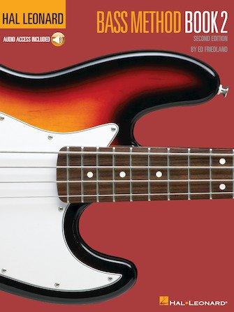 Hal Leonard Bass Method Book 2 – 2nd Edition Book/Online Audio
