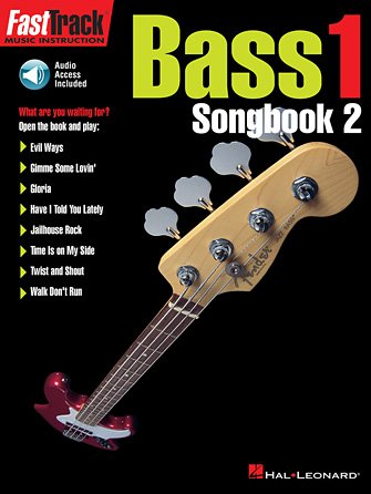 FastTrack Bass Songbook 2 – Level 1
