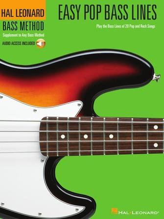 Easy Pop Bass Lines Play the Bass Lines of 20 Pop and Rock Songs
