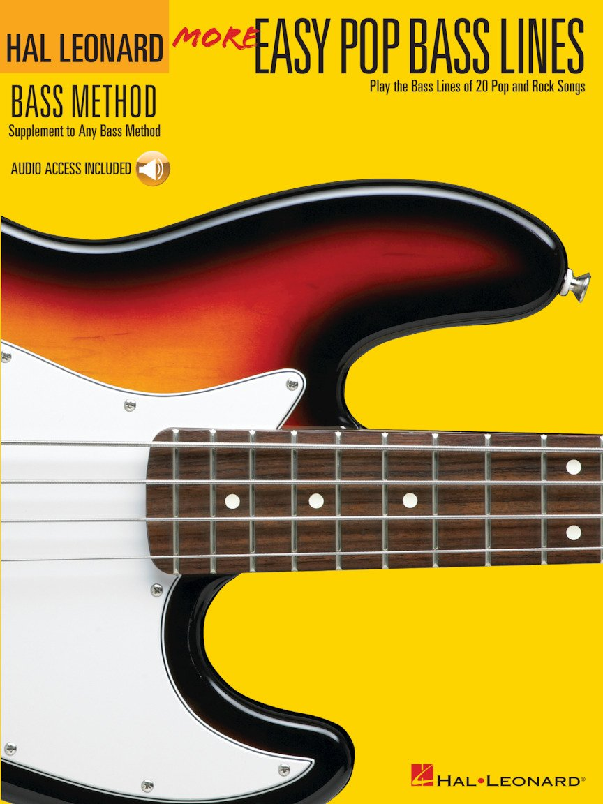 More Easy Pop Bass Lines Play the Bass Lines of 20 Pop and Rock Songs