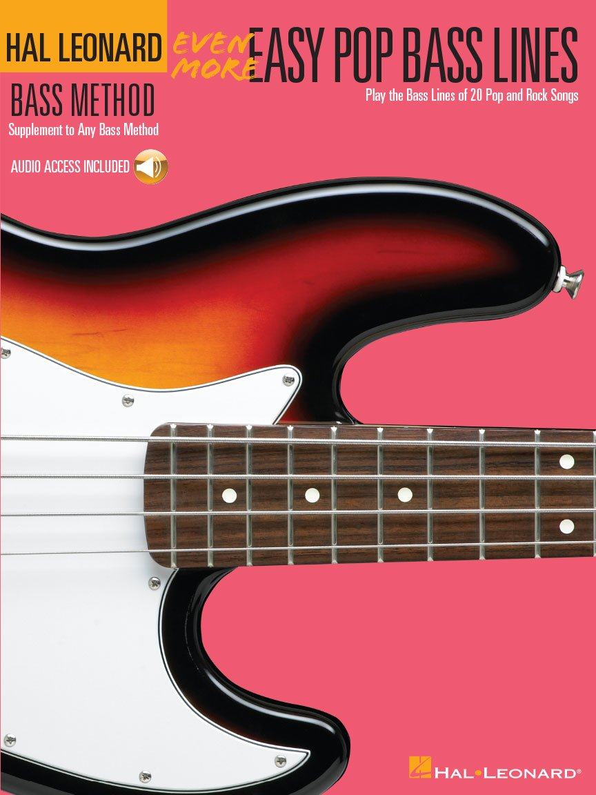 Even More Easy Pop Bass Lines Supplemental Songbook to Book 3 of the Hal Leonard Bass Method