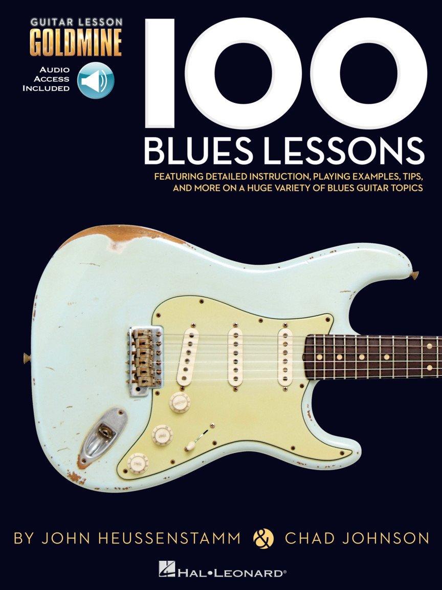 100 Blues Lessons Guitar Lesson Goldmine Series