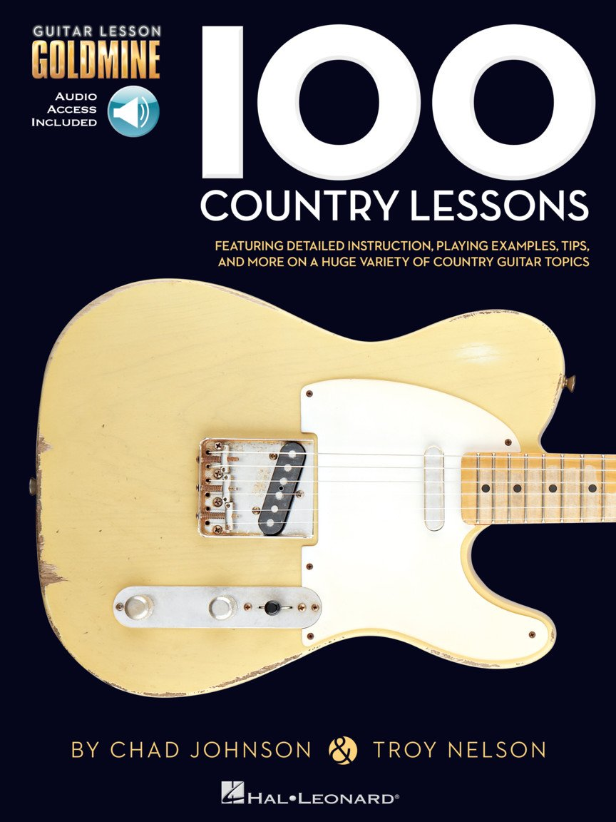 100 Country Lessons Guitar Lesson Goldmine Series