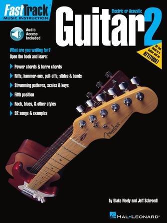 FastTrack Guitar Method – Book 2 - Audio Online - TAB
