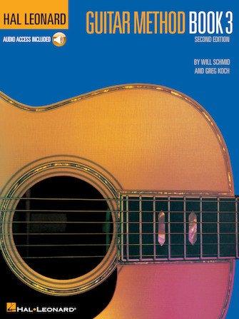 Hal Leonard Guitar Method Book 3 – Second Edition Book/Online Audio