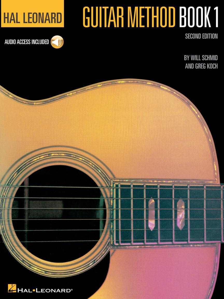 Hal Leonard Guitar Method Book 1 – Second Edition Book/Online Audio Pack