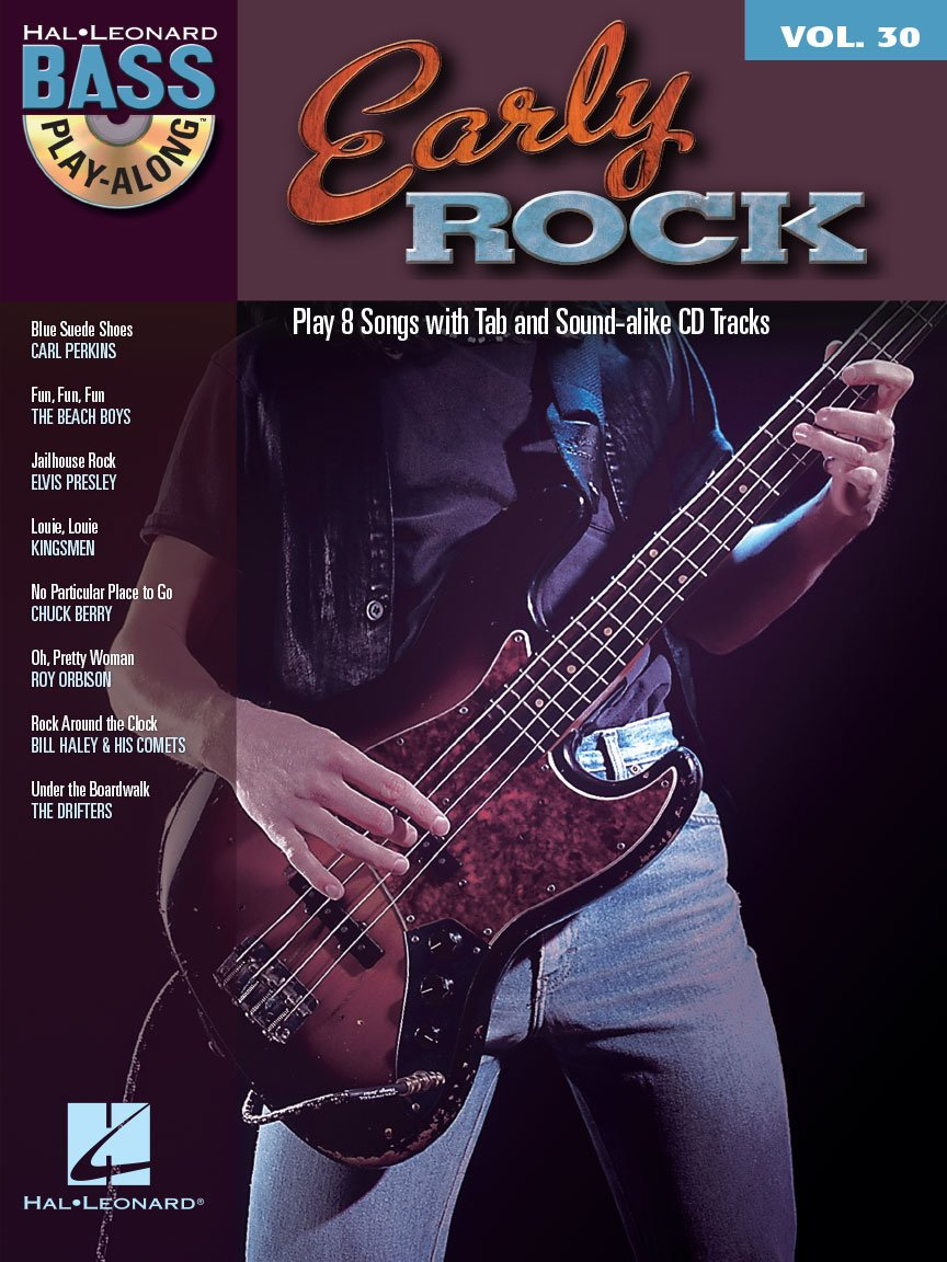 Early Rock Bass Play-Along Volume 30