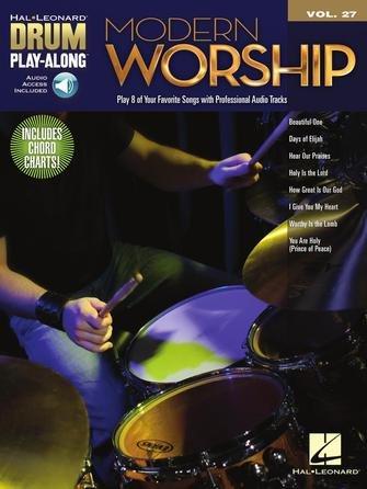 Modern Worship Drum Play-Along Volume 27