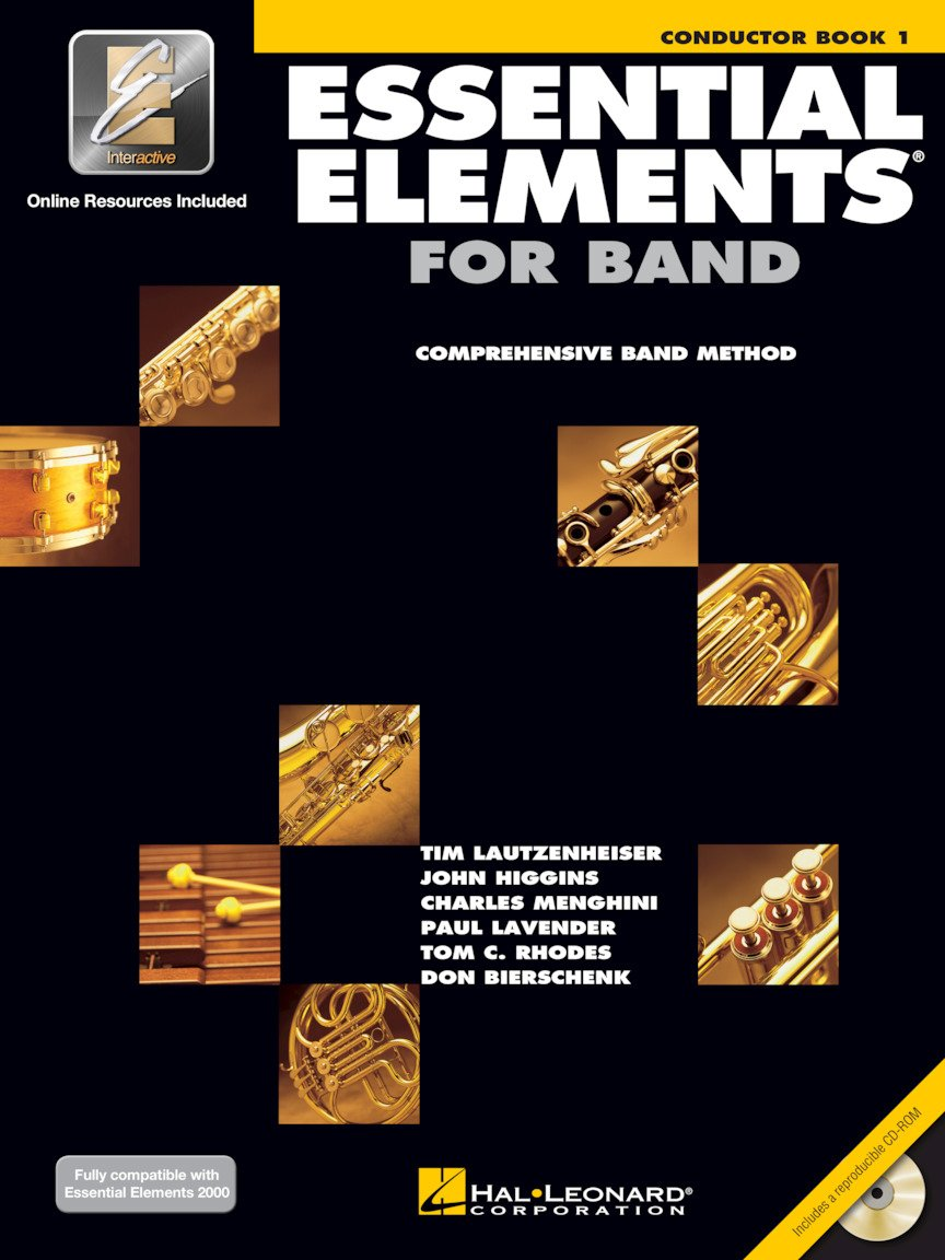 Essential Elements for Band – Conductor Book 1 with EEi