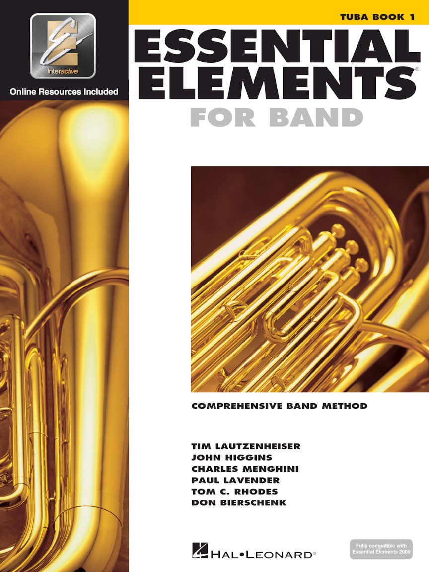 Essential Elements for Band - Tuba in C (B.C.) Bass Clef - Book 1 with EEi