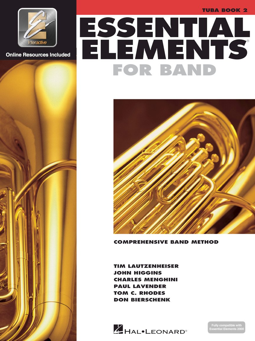Essential Elements for Band - Tuba in C (B.C.) - Book 2 with EEi