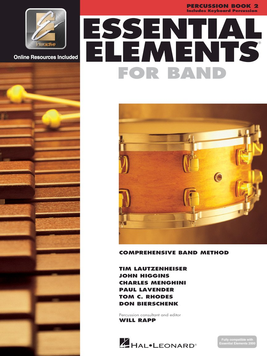 Essential Elements for Band - Percussion/Keyboard Percussion - Book 2 with EEi